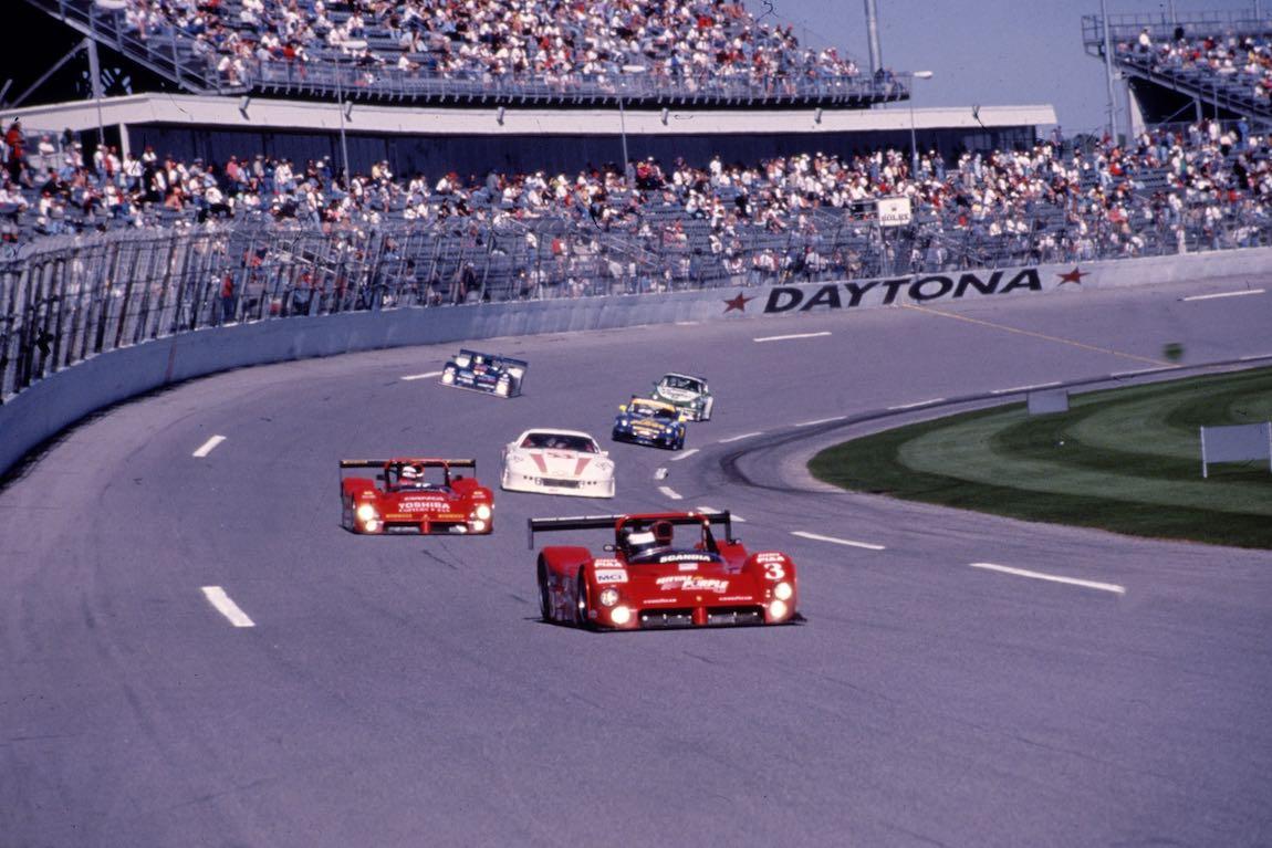 Ferrari 333 SP at the Daytona 24 Hours (photo: Ferrari)