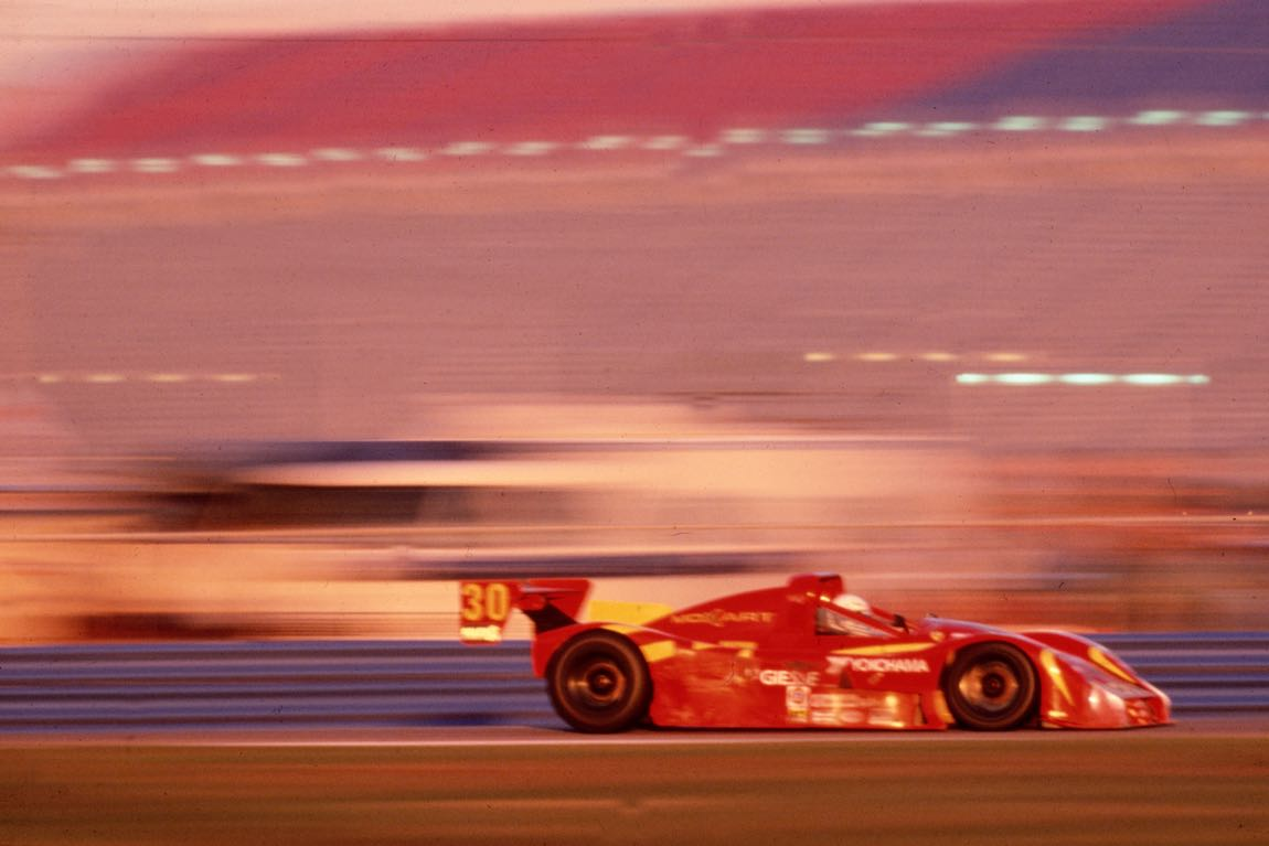 Ferrari 333 SP won 1998 Daytona 24 Hours driven by Gianpiero Moretti, Arie Luyendyk, Mauro Baldi and Didier Theys (photo: Ferrari)