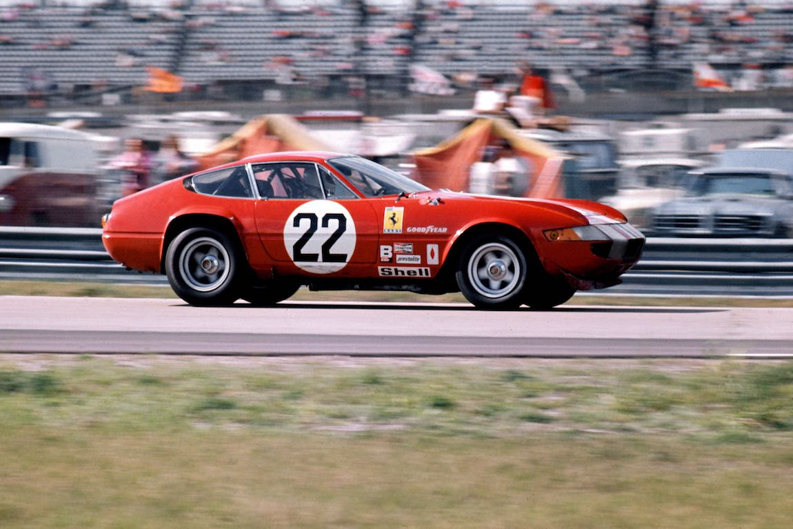 N.A.R.T. Ferrari 365 GTB/4 'Daytona' driven by Sam Posey, Ronnie Bucknum and Luigi Chinetti, Jr. (photo: Ferrari)