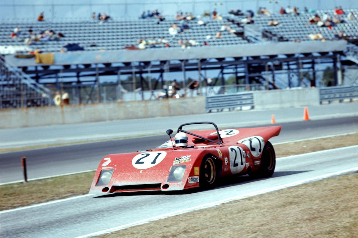 Ferrari 312 P (0872) driven by Nestor Garcia-Veiga, Luigi Chinetti, Jr. and Alain de Cadenet (photo: Ferrari)