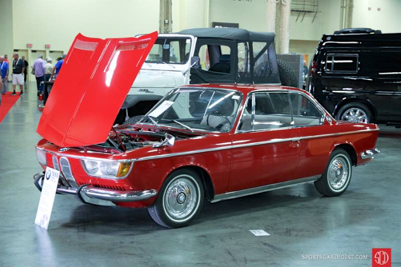 1968 BMW 2000CS Coupe, Body by Karmann