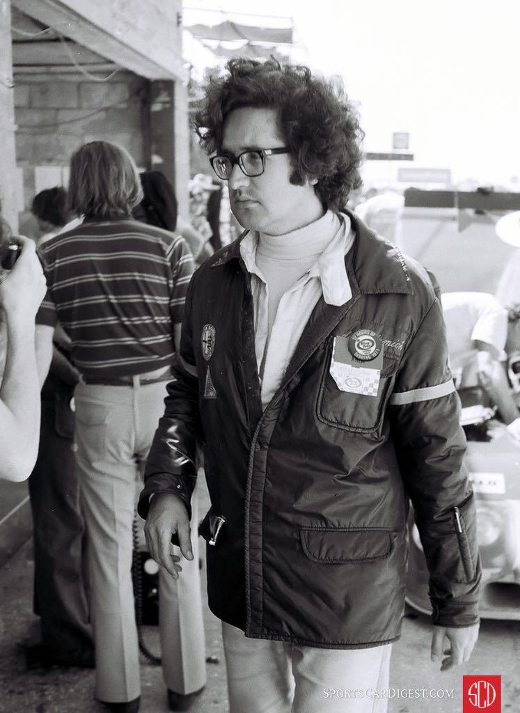 Andrea de Adamich drove for Alfa in '71 (Photo: Louis Galanos)