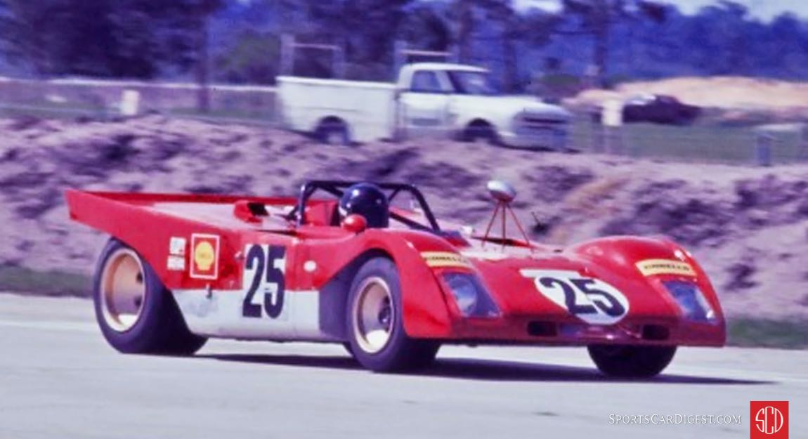 The Andretti/Ickx 312PB was a Formula One car with fenders (Photo: www.autosportsltd.com)