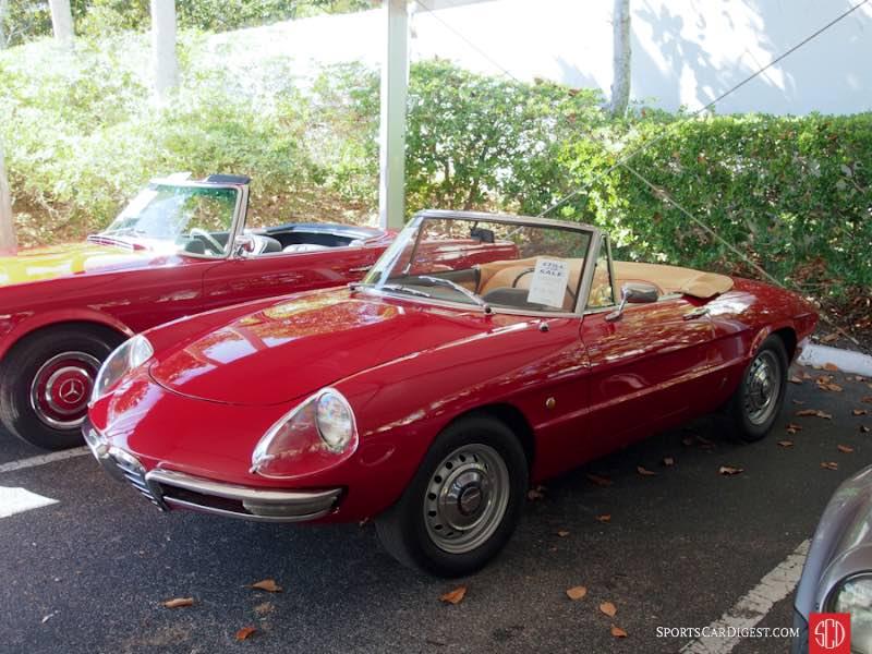 1966 Alfa Romeo Giulia Duetto Spider, Body by Pininfarina