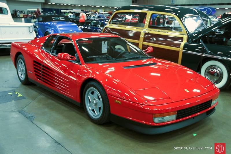 1987 Ferrari Testarossa Coupe, Body by Pininfarina