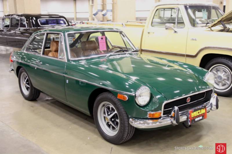 1972 MG B GT Coupe