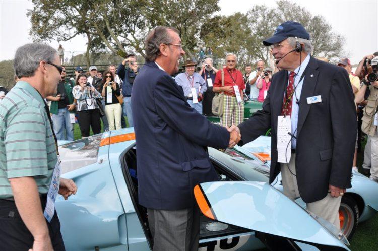 David Hobbs and Amelia Island Concours Founder Bill Warner