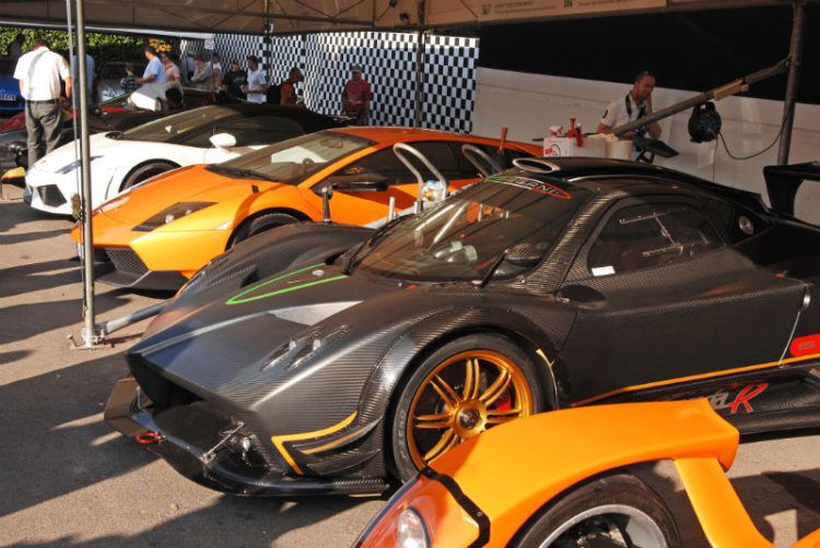 Super Car Paddock