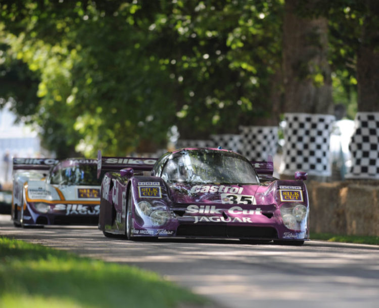 Jaguar XJR8/9 and the Jaguar XJR12