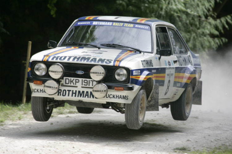 Ford Escort MK2 RS1800 on the Forest Rally Stage