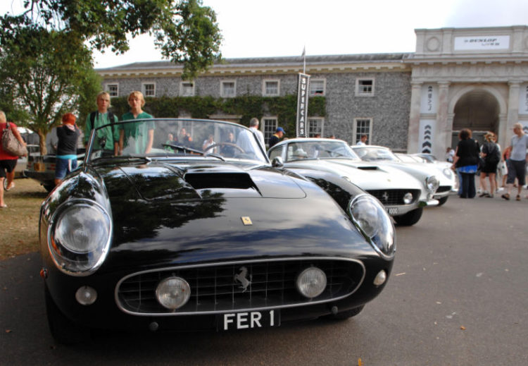 Chris Evans Magnificent Seven Ferraris