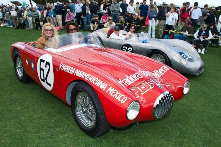 OSCA MT4-1500 - Michael and Katharina Leventhal, 1956 Maserati 200SI - Tony and Belle Schwartz