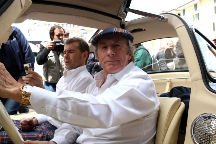 Jackie Stewart and son