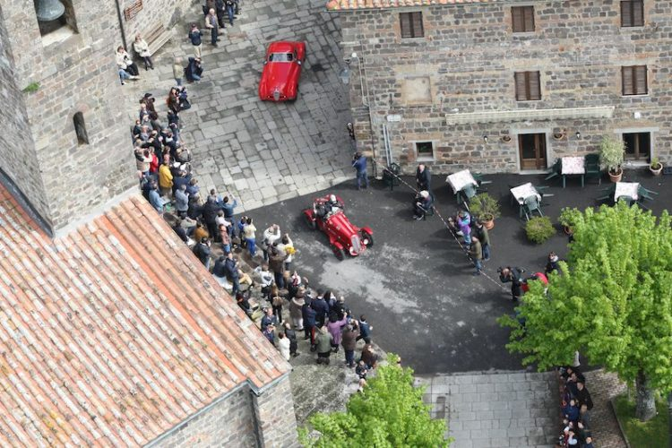 View from above at Mille Miglia