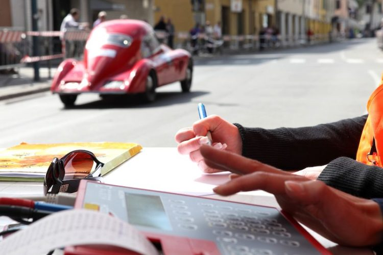 Timing and scoring at Mille Miglia 2010