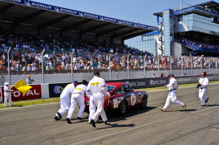 1960 Aston Martin DB4 GT Push start