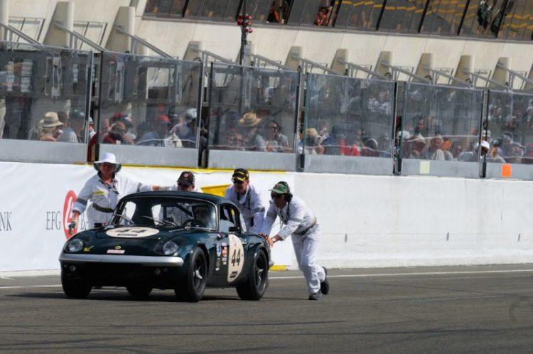 1965 Lotus Elan push start
