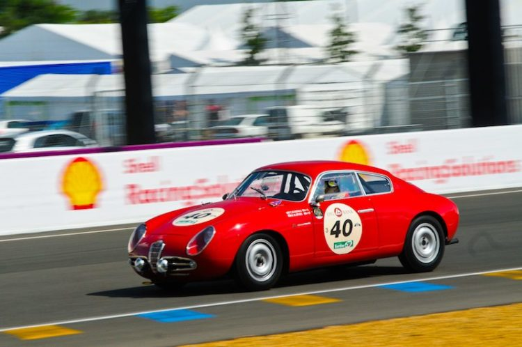 1957 Alfa Romeo Giulietta SVZ