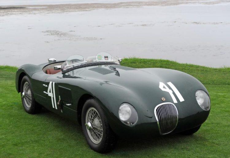1952 Jaguar C-Type, Gary Bartlett