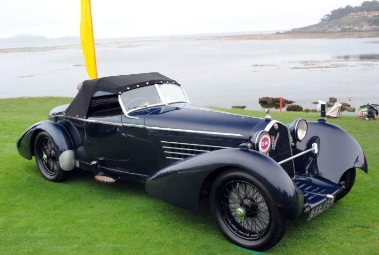 1934 Alfa Romeo 8C 2300 Spider, Roger Willbanks