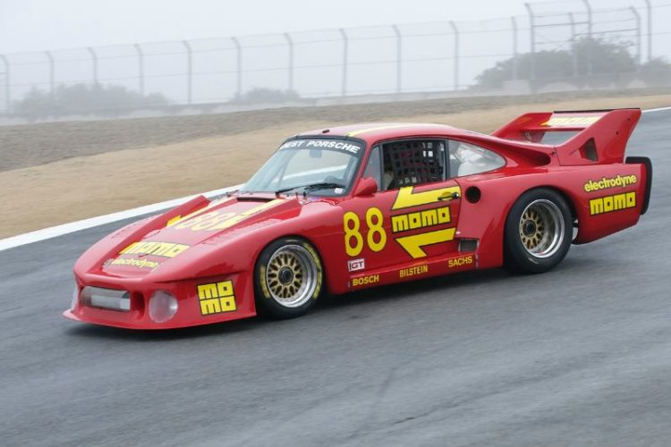 1980 Porsche 935J driven by William 'Chip' Conner.