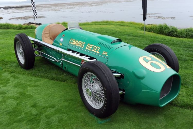 1950 Kurtis 'Cummins Diesel Special', Indianapolis Hall of Fame Museum