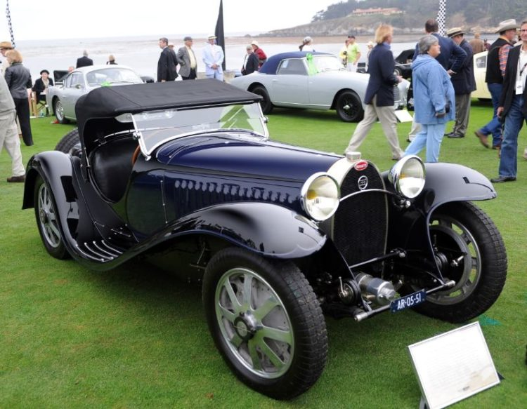 1936 Bugatti Type 57 James Young Drophead Coupe, Brian and Randy Pollock