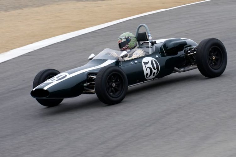 1962 Cooper T59 driven by Jimmy Domingos.