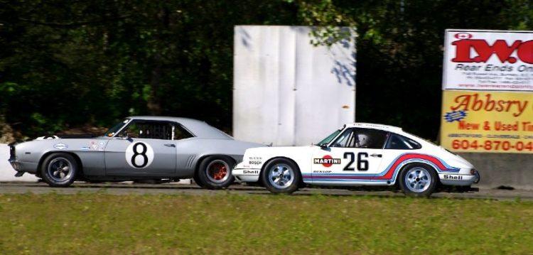 1969 Camaro and 1969 Porsche 911T