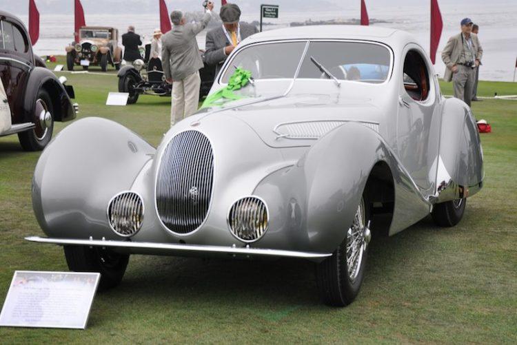 1938 Talbot-Lago T150C SS Figoni et Falaschi Coupé