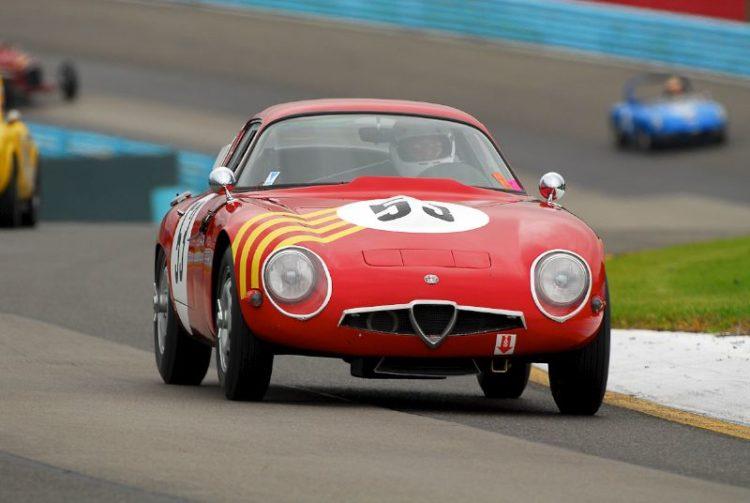 1964 Alfa Romeo TZ-1- Roger Mandeville.