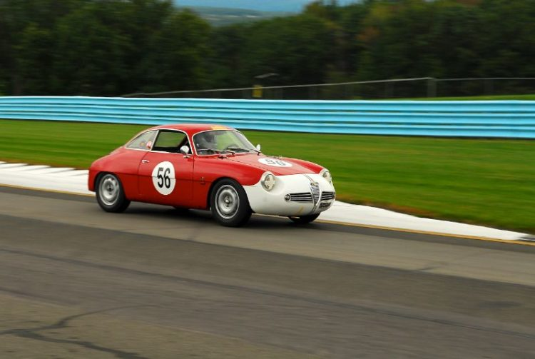 1960 Alfa Romeo Giulietta SZ- Sharon Adelman.