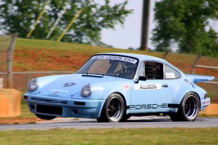 Jack Lewis, 74 Porsche Carrera RSR