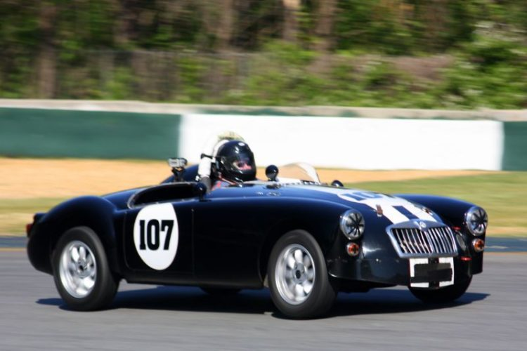 V. Carl George, 59 MGA Roadster