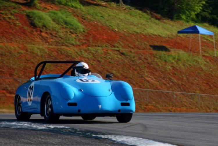 Dale Erwin, 58 Porsche 356 Speedster