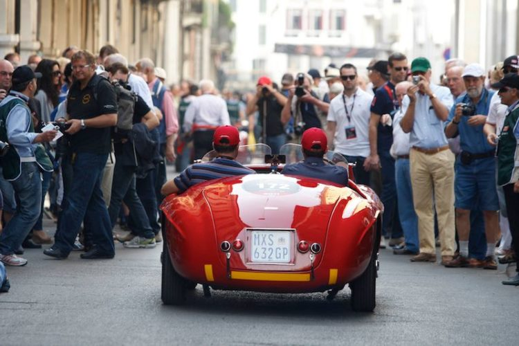 1950 Ferrari 166 MM at Mille Miglia 2011