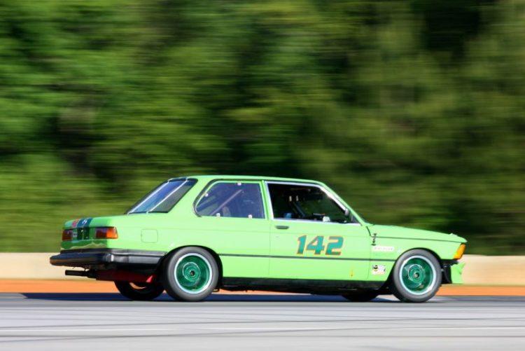 Mike Blair, 77 BMW 323 Euro