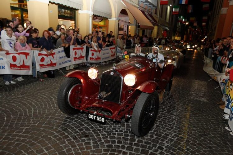 1932 Alfa Romeo 8C 2300 MM at Mille Miglia 2011