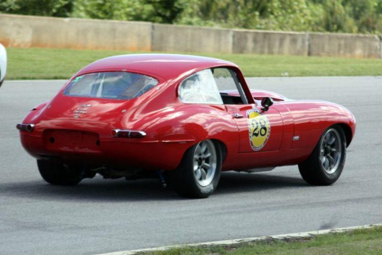 Randy Williams. 66 Jaguar E Type