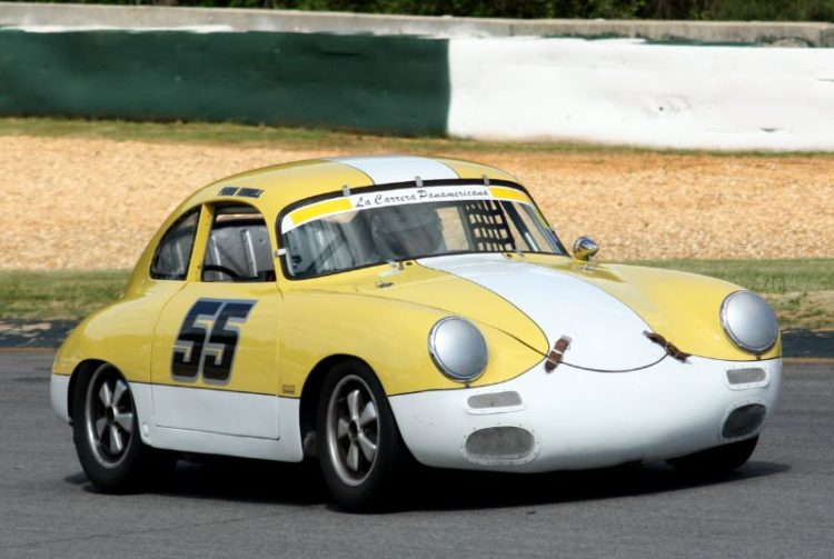 Perry Tennell. 61 Porsche 356