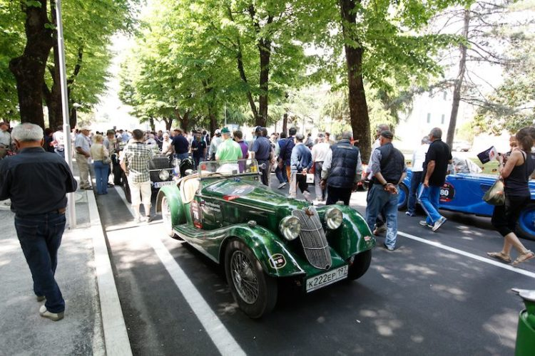 1936 Riley Sprite at Mille Miglia 2011