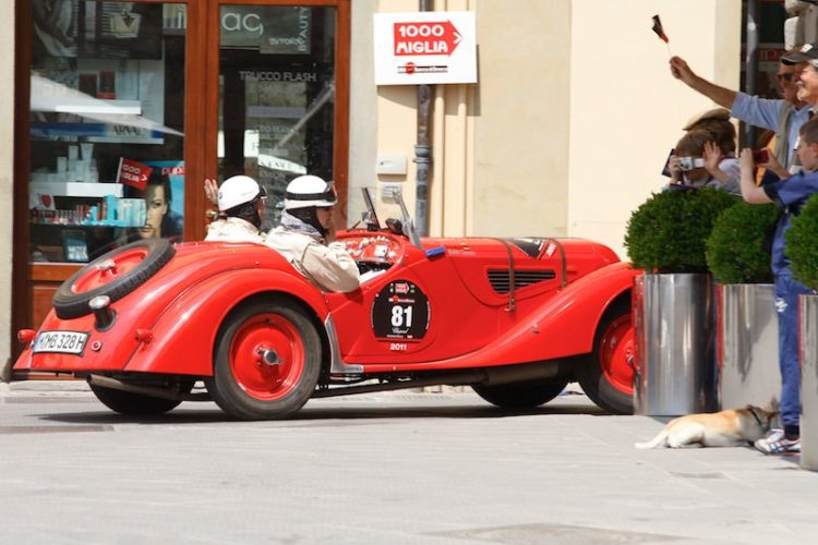 1937 BMW 328 at Mille Miglia 2011