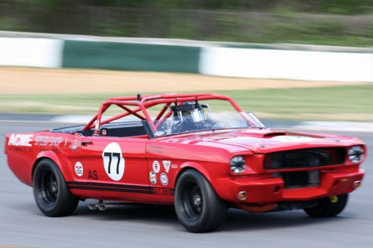 Jeff McKain. 66 Mustang