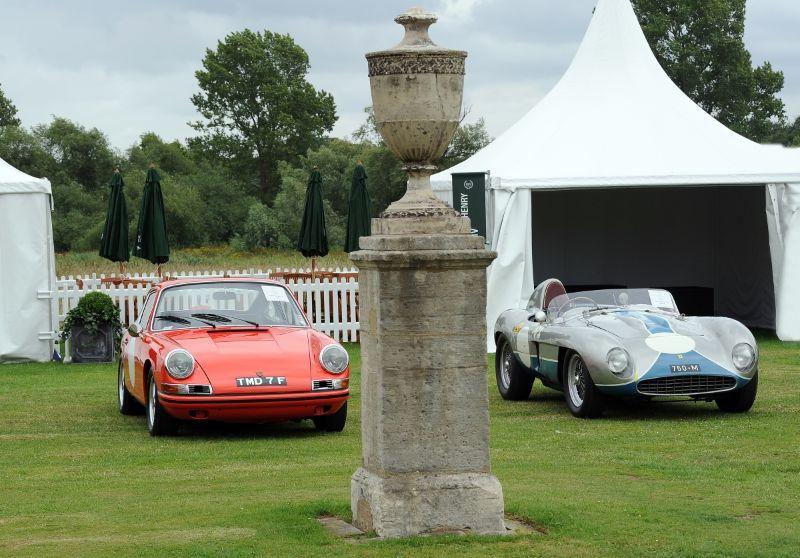 1968 Porsche 911 T/R and 1955 Ferrari 750 Monza