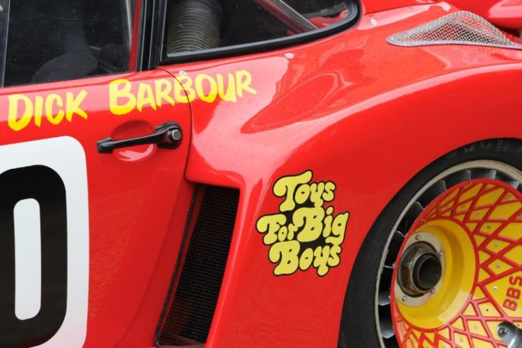 Hawaiian Tropic Newman/Barbour/Stommelen Porsche 935 that finished second at Le Mans in 1979