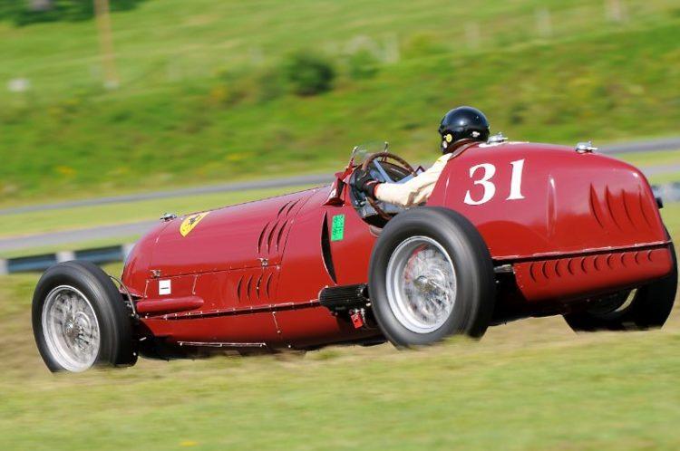 1935 Alfa Romeo 8C-35, Peter Giddings.