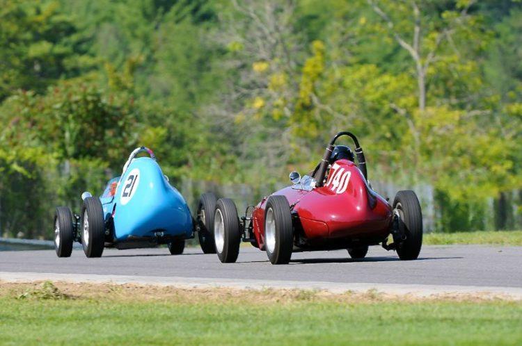 #21- Bill Gelles 1959 Stanquellini FJ and Mitch Eitel 1959 OSCA FJ.