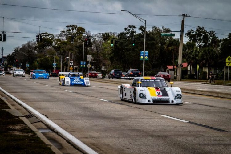 50 Years of Champion Cars Parade on International Speedway Boulevard (Rolex/Tom O'Neal)