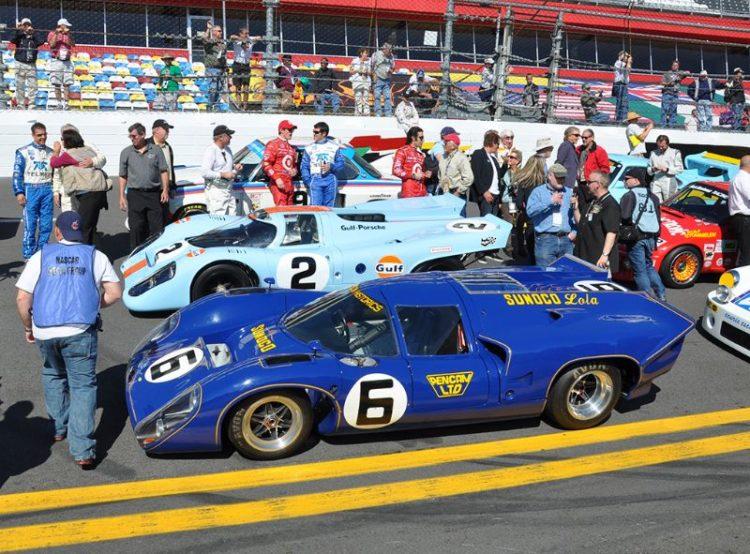 Sunoco Penske Lola T70 Mk3B, winner of the 1969 24 Hours of Daytona