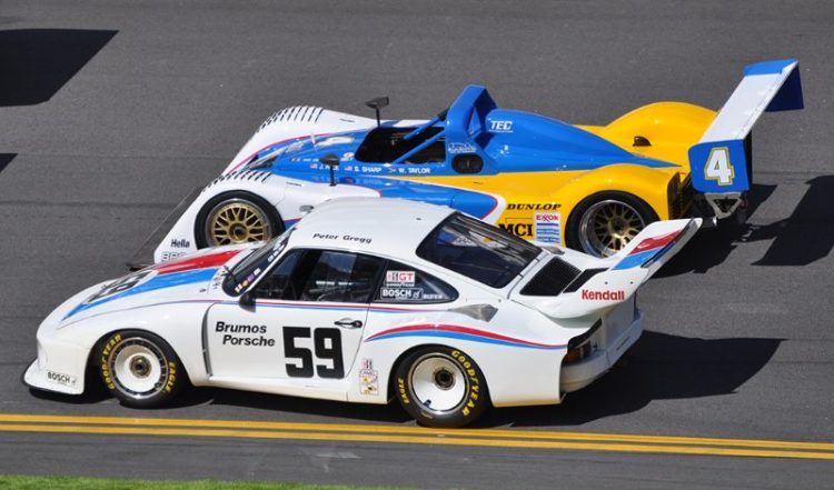 1978 Winner, Porsche 935-77A and 1996 Winner, Riley and Scott-Oldsmobile Mk III